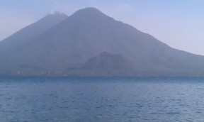 Volcanoes Tomilán and Atitlán